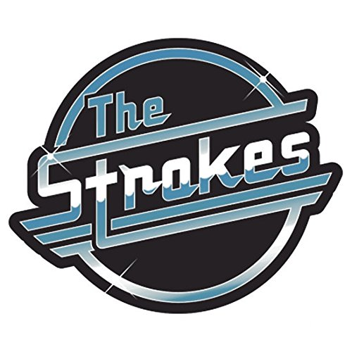 PVC Sticker 'The Strokes(8.3x7CM) ' By Best Gift Shop