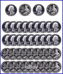 (1976 S Washington Quarter Proofs 1976 S Washington Quarter Proofs Roll of 40 Drummer Boy Clad Proof)