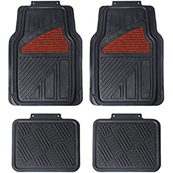 Amazoncom Maggift Rubber Floor Mats for Car SUVs Vans Trucks