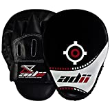 ADii Curved Boxing MMA High-Tech Focus Mitts / Pads w/ Wrist Support ( Pair)