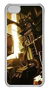 iPhone 5C Case Lovecraft S City Of R Yleh PC Custom iPhone 5C Case Cover Transparent
