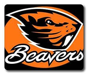 Oregon State Beavers Logo Rectangle Mouse Pad by eeMuse