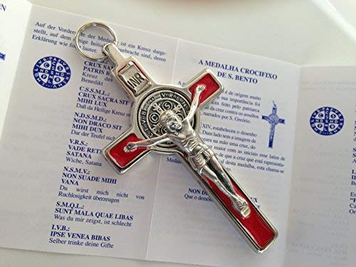 (St Benedict Cross Medal Crucifix 3