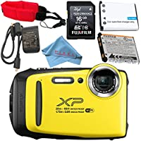 Fujifilm FinePix XP130 Digital Camera (Yellow) #600019828...