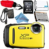 Fujifilm FinePix XP130 Digital Camera (Yellow) #600019828 + Camera Floating Strap + Replacement Lithium Ion Battery + Microfiber Cloth Bundle Review