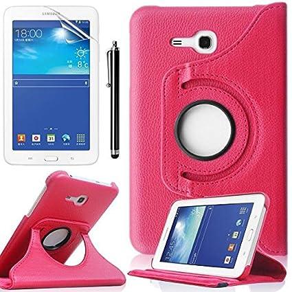 Amazon.com: Samsung Galaxy Tab 3 Lite 7.0 Case, beebiz 360 ...