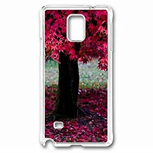 iCustomonline Nature Protective Back PC Crystal Clear Case for Samsung Galaxy Note 4