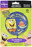 ": Anagram International Spongebob Squarepants Birthday Packaged Party Balloons, 18"", Multicolor"