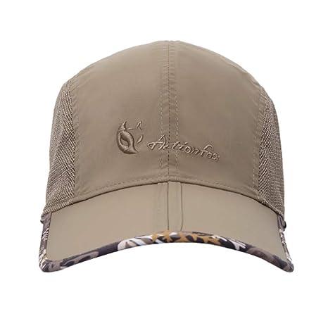 XJYA Gorra de Beisbol Plegable Secado rápido Verano Sombrero para ...