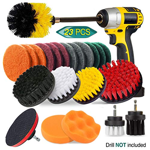 23 Piece Drill Brush