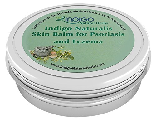 Eczema & Psoriasis Treatment from Indigo Natural Herbs Skin Balm Relief of Flaking, Scaling, Itching and Soothes Dry or Cracked Skin, Protect Your Skin Now! 4 oz