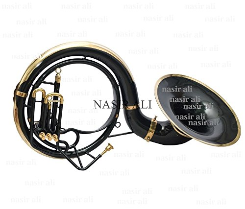 EASTER GIFT SOUSAPHONE Bb PITCH 24'' BELL BLACK WITH FREE BAG AND MP