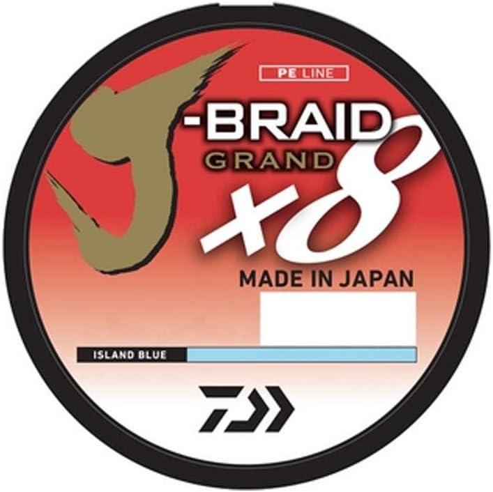 Daiwa J-Braid Grand x8 Braided Line 3,000 Yard Bulk Spool