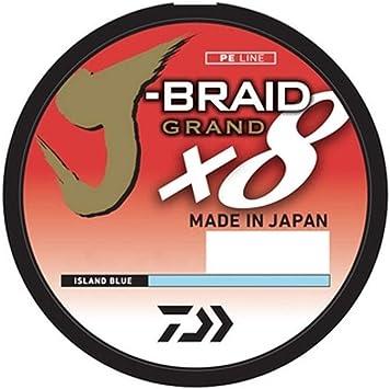 FREE SHIPPING WITHIN US Daiwa 8x J-Braid 20lb 300m Braided Line Dark Green