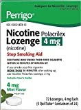 Best Nicotine Polacrilexes - Perrigo Nicotine Polacrilex Lozenge 4mg ~ Mint Flavor Review