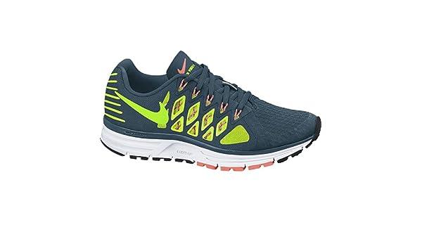 NIKE Hombre 9 Zoom Vomero 9 Running Shoes-Grey/Amarillo, tamaño 8, Hombre, Zoom Vomero 9, Blue/Green/Orange, 9 UK: Amazon.es: Deportes y aire libre