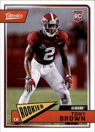 detailed look 42076 14227 Amazon.com: 2018 Panini Classics #277 Tony Brown Rookie ...