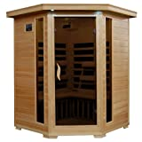 3-Person Hemlock Corner Infrared Sauna w/ 7 Carbon Heaters Review