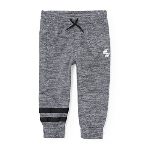The Children's Place Baby Boys Athletic Pants, Fin Gray Boys, 3T