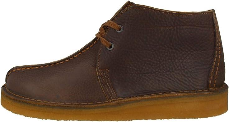 Clarks, Polacchine Uomo, Marrone (Cola Leather (26138713