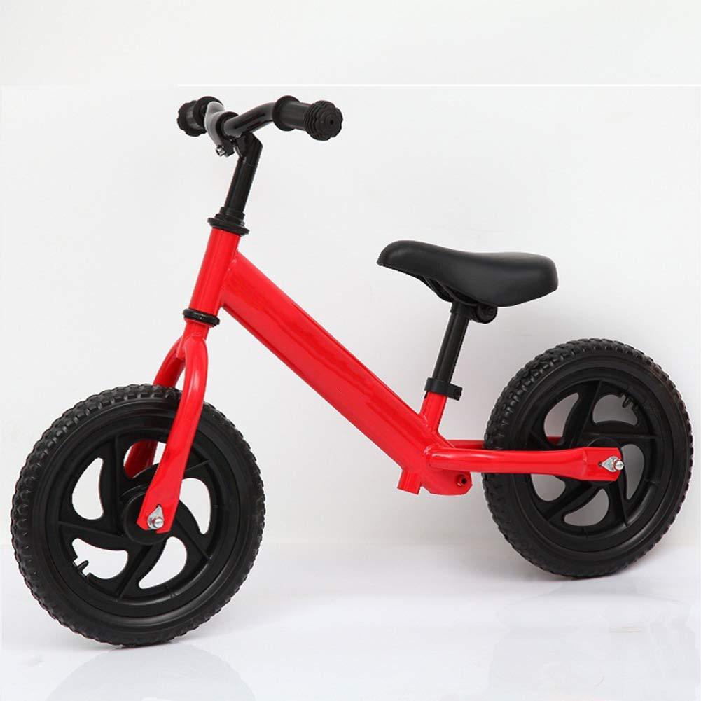 Baby-Kind-Balancen-Auto-Wanderer-Roller 12 Zoll Kein Pedal-Schaum-Rad-Kohlenstoffstahl-Rahmen-Justierbarer Lenker und Seat Bike