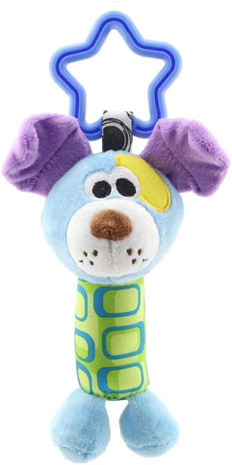jingyuu juguetes bebé juguetes colgante en forma Animal de historieta Jou timbres eolios para bebé cochecito cama Home decoración 7 * 18.5cm perro