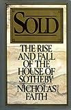 Sold, Nicholas Faith, 0025369709
