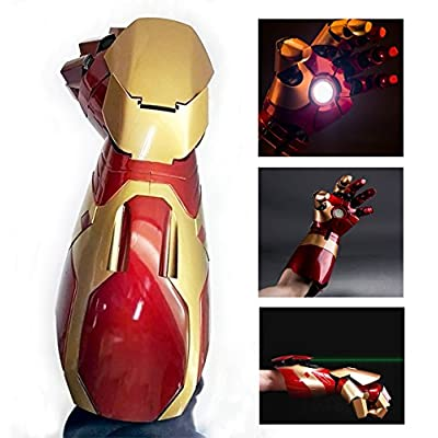 Gmasking Electronic MK42 Wearable Arc FX Wrist Armor Gauntlet 1:1 Props Replica: Toys & Games