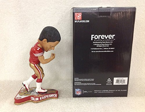 Colin Kaepernick 49ers Football Kiss Bicep Bobblehead by Bobbleheads