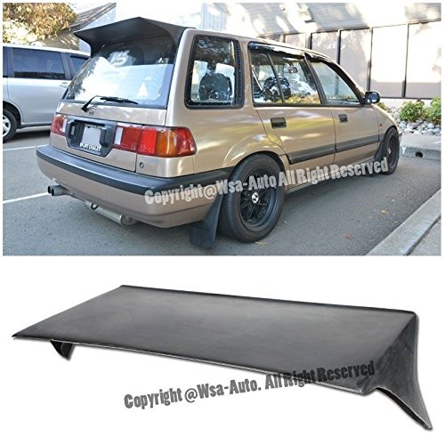 EOS Body Kit Rear Wing Spoiler - For Honda Civic Wagon EF9 88-91 1988 1989 1990 (Rear Wing Kit)