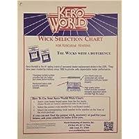 Kerosene Heater Wick Chart World Marketing of America WC-2 013204000011