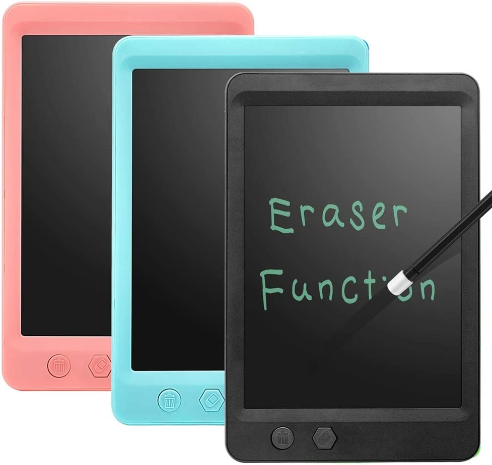Color : Blue, Size : 8.5 inches LCD Writing Tablet 8.5 Inch Mini Electronic Doodle Board Kids Drawing Tablet Digital Handwriting Pad