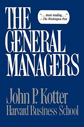 Amazon general managers ebook john p kotter kindle store general managers 1st edition kindle edition fandeluxe PDF