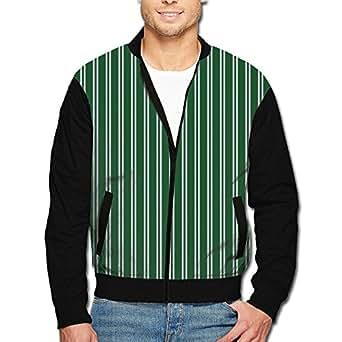 Magic Snake Strips Men's Full-Zipper Hoodie Jacket