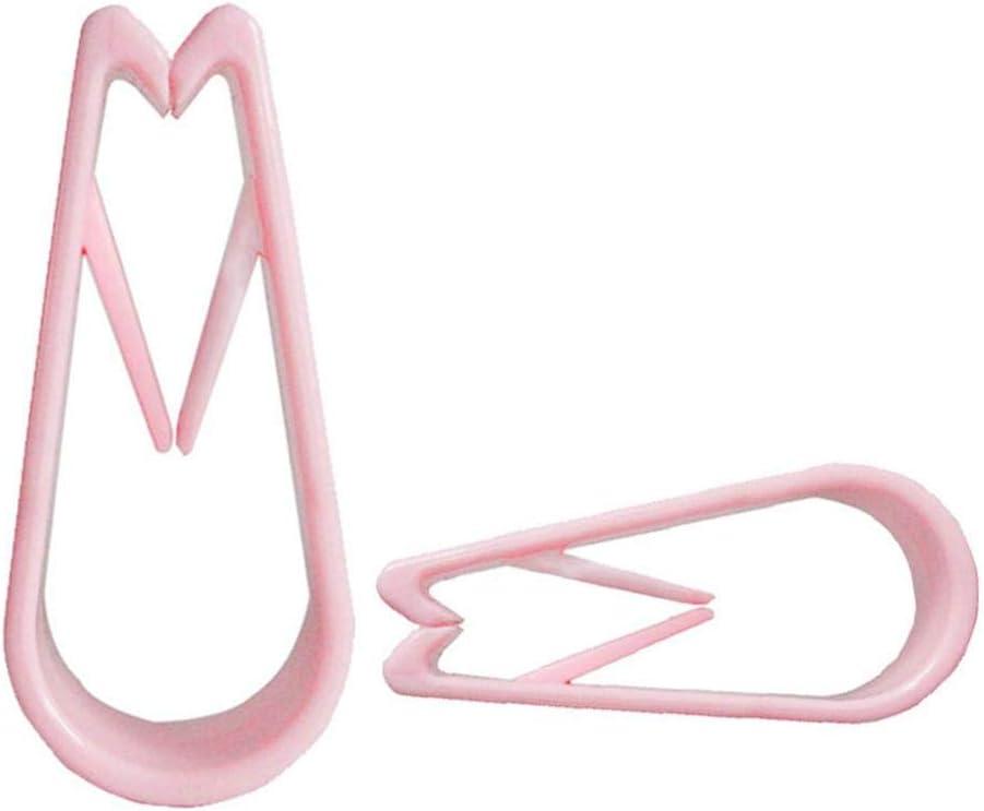 fissaggi per Coperte Rosa Accessori Antiscivolo per Biancheria da Letto 8 Clip per piumone da soffitto Senza ago Knowled