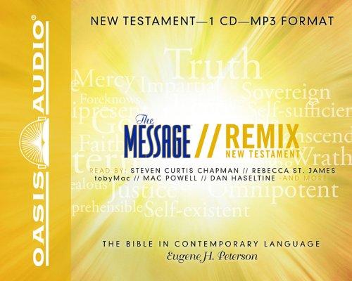Message Mp3 (The Message Remix Bible: New Testament)