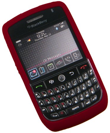 e Durable Gel Skin Silicone Case for Blackberry Curve 8900 Javelin [Retail Packaging] ()