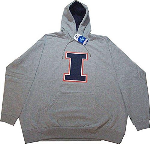 Russell Athletic Illinois Fighting Illini Hoodie Sweatshirt Big Tall NWT (5XL)