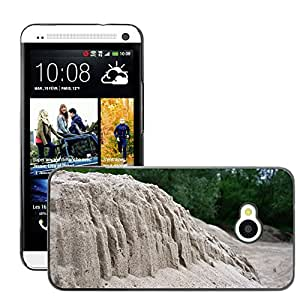Hot Style Cell Phone PC Hard Case Cover // M00309766 Sand Sculpture Nature Dune // HTC One M7