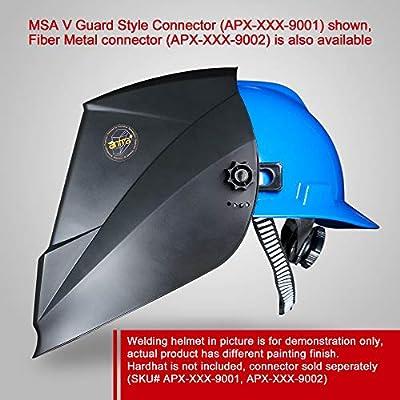 Antra AH7-860-001X Auto Darkening Welding Helmet Huge Viewing Size 3.86X3.5