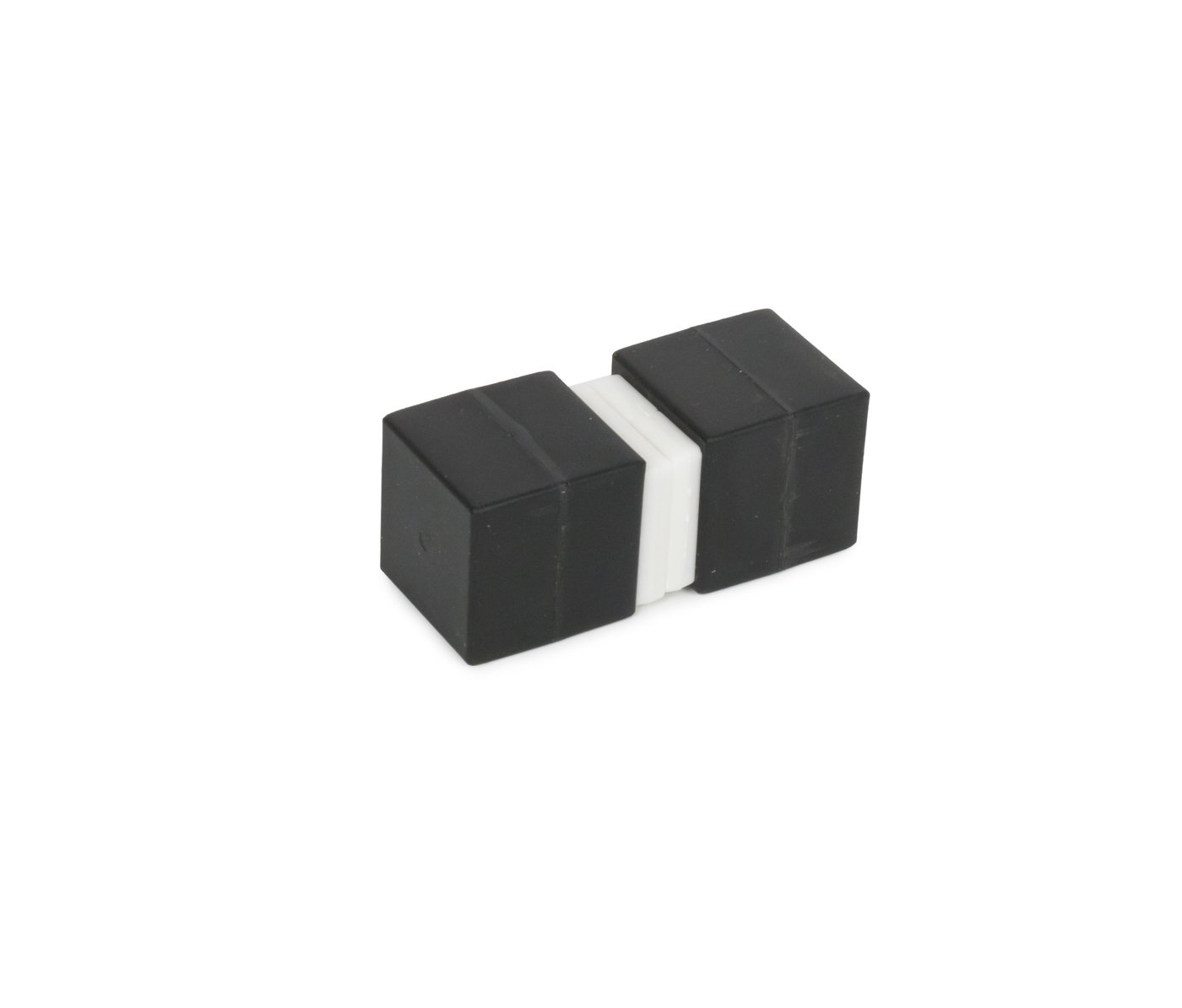 Unbreakable Plastic-Coated N52 Neodymium Cube Magnets, Waterproof, 1 x 1 x 1 inch. 2-Pack. Revitalizaire Strong Permanent NdFeB Rare Earth Magnets Coated with Hard Black Polypropylene by Revitalizaire (Image #4)