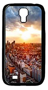Cool Painting Samsung Galaxy I9500 Case,Japan tokyo cityscapes Polycarbonate Hard Case Back Cover for Samsung Galaxy S4/I9500
