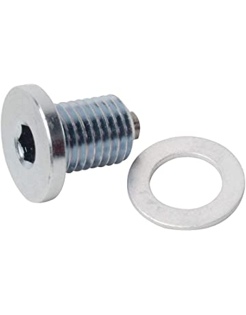 Tusk Low-Profile Magnetic Drain Bolt -Fits: Kawasaki KLR650 1987-2017