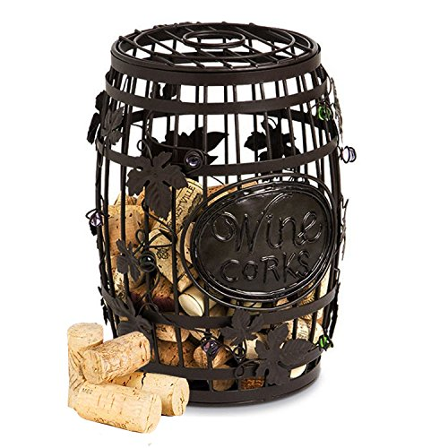 Cork Cage Wine Barrel