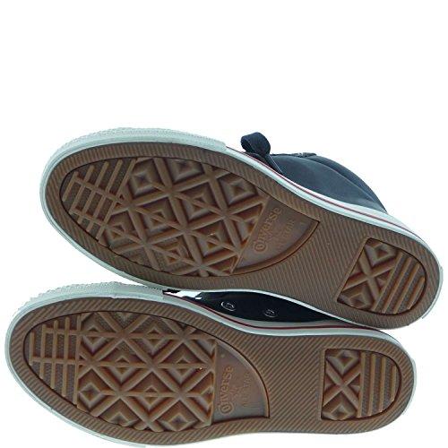 Converse All Star Street Mid Suede 646206c Lb Jungen Moda Schuhe Nero