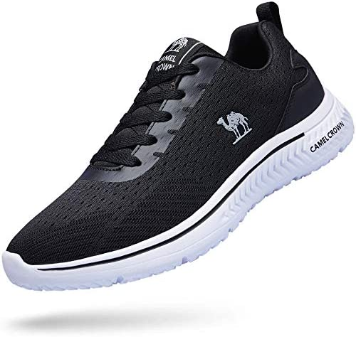CAMEL CROWN Running Shoes Men Tennis Shoes Fashion Sneaker Lightweight Athletic Casual Sport Workout Walking Shoes