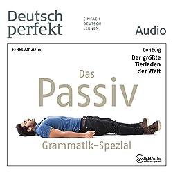 Deutsch perfekt Audio - Grammatik Spezial. 2/2016