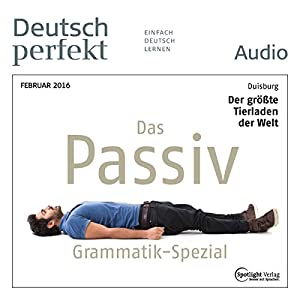 Deutsch perfekt Audio - Grammatik Spezial. 2/2016 Audiobook