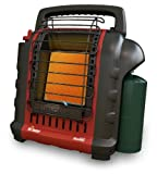 Mr. Heater F232025 MH9BX Buddy 4,000-9,000-BTU Portable Radiant Heater, California Only