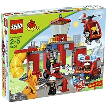 Amazon.com: Lego 10593 Duplo Town Fire Station: Toys & Games